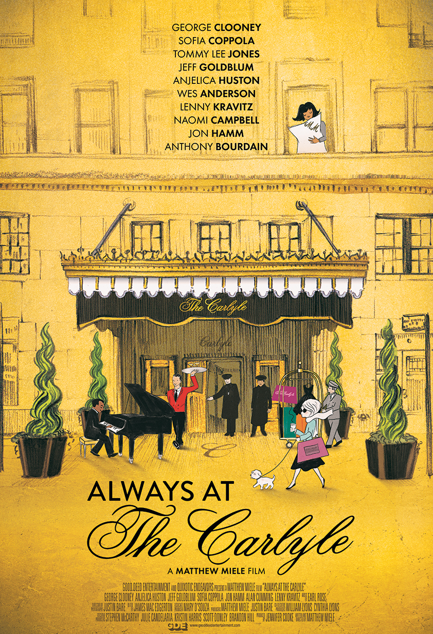 Always At The Carlyle - Theatrical One Sheet