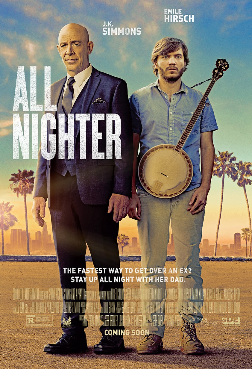 All Nighter - Theatrical One Sheet